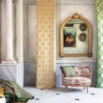 osmanli desenli persan dosemelik ve perdelik kumaslar