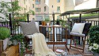 2015 İlkbahar Yaz Sezonu Balkon Dekorasyon Önerileri