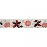 renkli cicek desenli bordur seramik