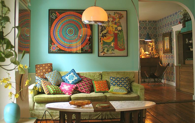 Decoracion hogar hippie
