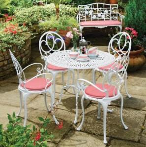 Tepe home ferforje bahçe ve balkon masası