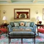 vintage salon dekorasyon modelleri