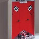 Yarışçı Çocuk Odası Gardırop
