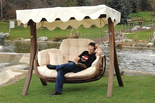 Yeni moda bambu salıncak