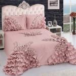 pudra pembesi yatak örtüsü modelleri