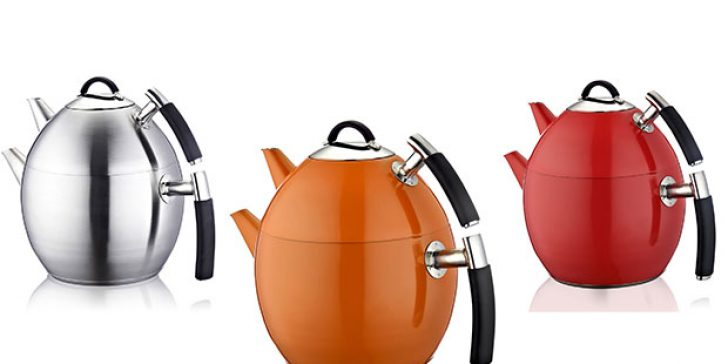 2015 Yeni Sezon Trendi Çaydanlık Modelleri
