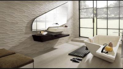 Yeni Trend Dekoratif Banyo Seramik Modelleri