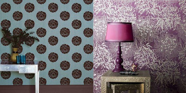 2015 Modası Dekoratif Duvar Kağıdı Modelleri