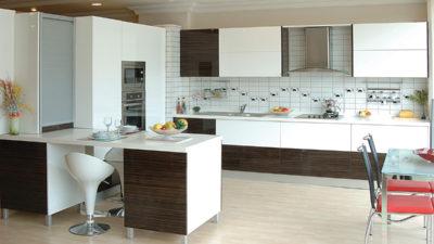 Yılı Modern Mutfak Dolap Modelleri