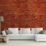 3d tugla desenli duvar kagidi modelleri