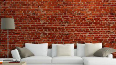 3D Tuğla Desenli Duvar Kağıdı Modelleri