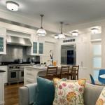 acik mutfakli modern evler