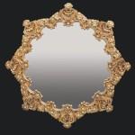 barok stili varakli ayna