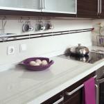 Çimstone Mutfak Tezgahı Beyaz