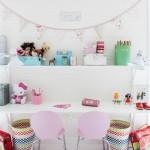cocuk odasi calısma masasi dekorasyonu