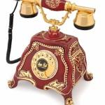dekoratif antika telefon