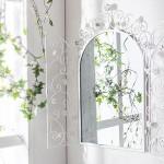 dekoratif ferforje cerceveli ayna