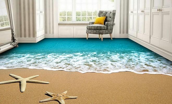 dekoratif polimerik kaplama modelleri dekorstyle. Black Bedroom Furniture Sets. Home Design Ideas