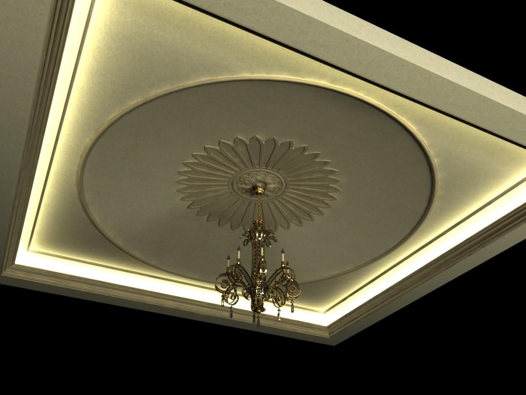 dekoratif tavan modelleri 2015