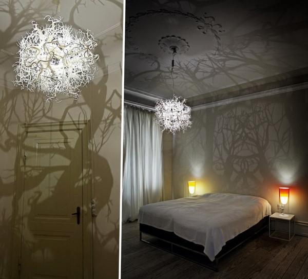 dekoratif yatak odasi avize modelleri