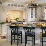 fransiz stili mutfak dekorasyonu