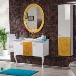 golden banyo dolabi