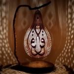 hat desenli dekoratif su kabagi aydinlatma