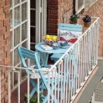 Katlanan balkon masaları