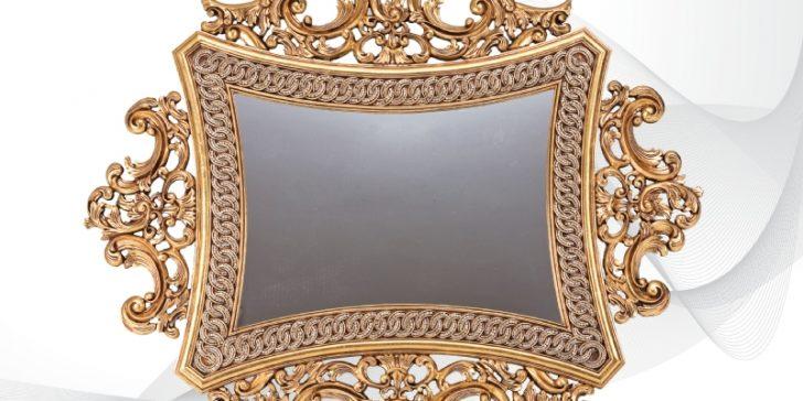 Birbirinden Güzel 11 Varaklı Duvar Aynası