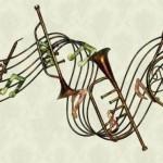 muzik temali duvar aksesuari
