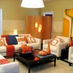 oturma odasinda dekoratif paravan