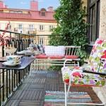 Portatif balkon masası ve sandalyeleri