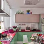 renkli mutfak dekorasyon modelleri