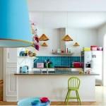 renkli mutfak dekorasyonlari
