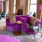 renkli salon dekorasyon modelleri