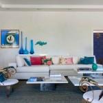 renkli salon dekorasyonu