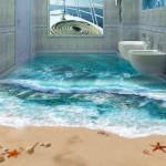 uc boyutlu banyo zemin kaplamalari