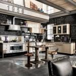 vintage stili mutfaklar