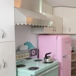 yeni moda dekoratif mutfak beyaz esyalari