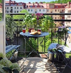 yeni moda katlanan balkon masa takimlari