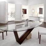 yeni modern yemek odasi modelleri