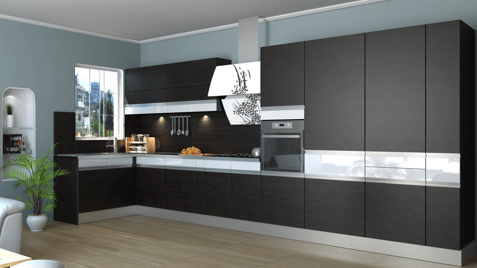 2015 y l modern mutfak dolap modelleri dekorstyle. Black Bedroom Furniture Sets. Home Design Ideas