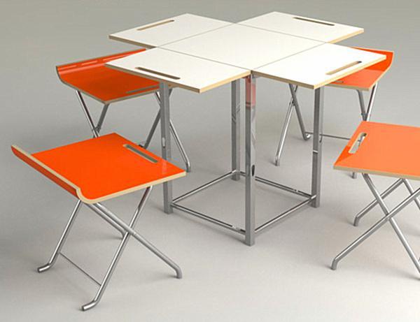 Yeni trend portatif balkon masa takımları