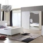 2015 modasi beyaz yatak odasi modeli