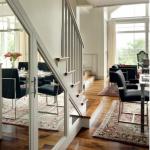 ayna kapaklı merdiven alti dolaplar
