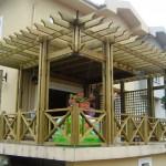 balkon pergola