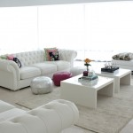 beyaz renkli salonlar