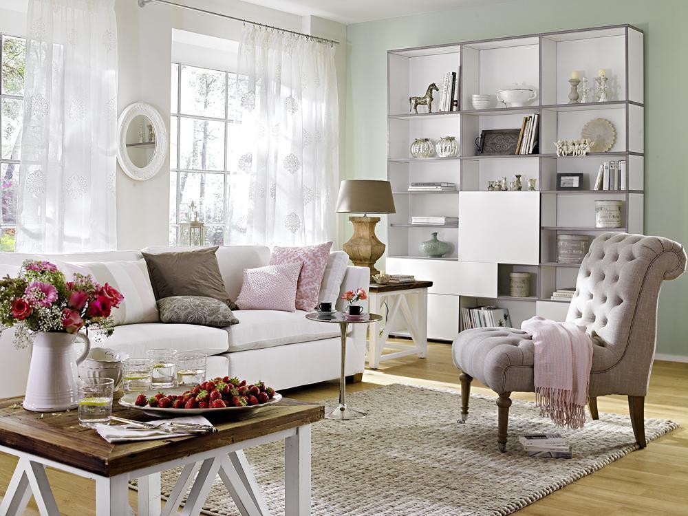 Country stili oturma odas dekorasyonlar dekorstyle for Wohnzimmer vintage modern