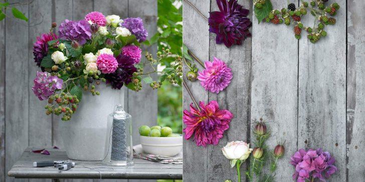 Dekorasyonu Çiçeklerle Renklendirin