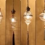dekoratif cam kamdil avizeler